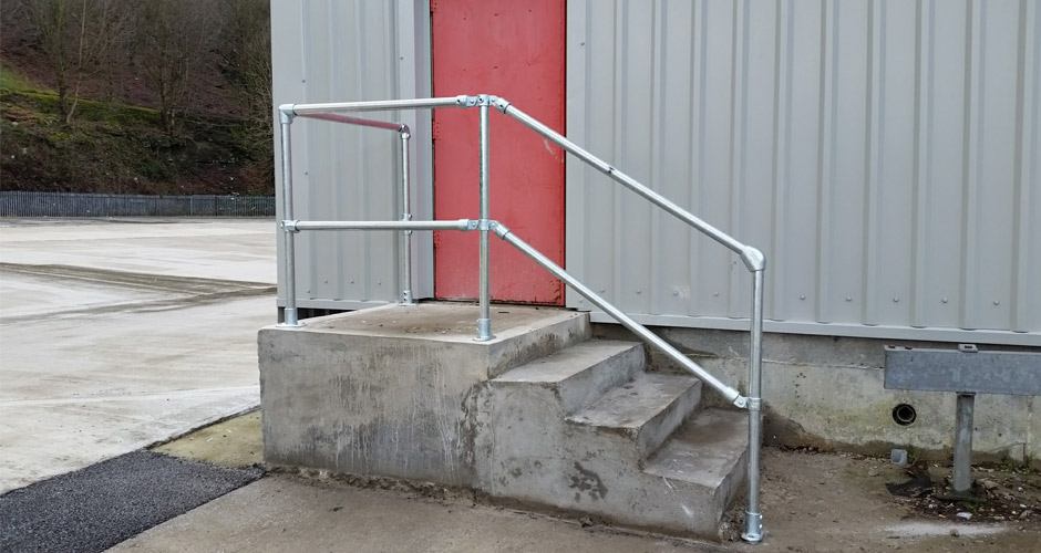 Safety Handrails - Abacus Domestic Fencing